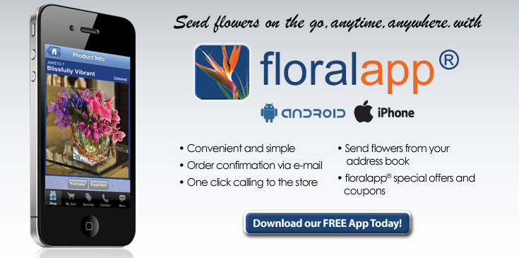 Download floralapp® - Available for iPhone and Android.
