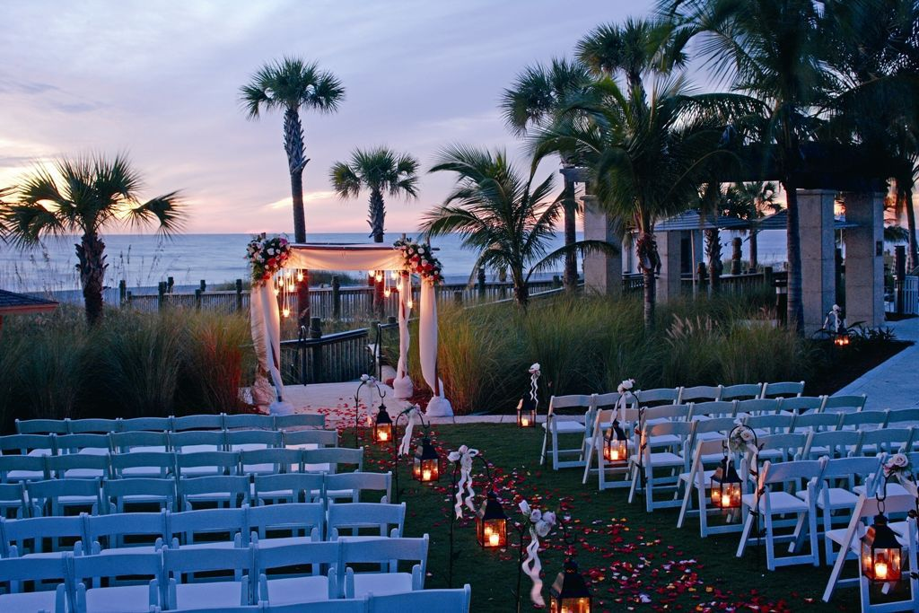 ceremony arches and canopies